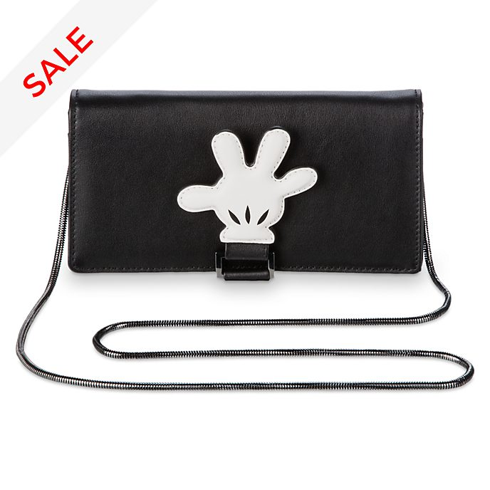 Disney Store Mickey Mouse Leather Crossbody Bag