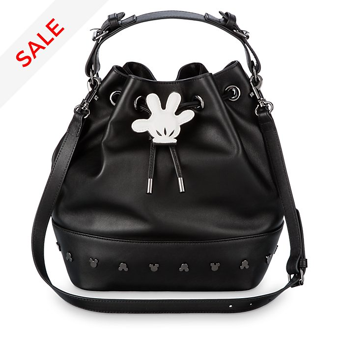 Disney Store Mickey Mouse Leather Bucket Bag