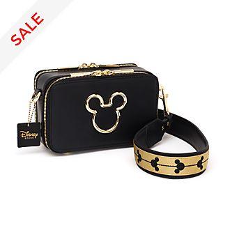 Disney Store Mickey Mouse Black Crossbody Bag