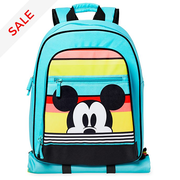 Disney Store Mickey Mouse Backpack and Picnic Blanket