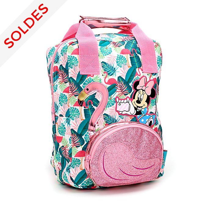 Disney Store Sac à dos Minnie à motif flamant rose