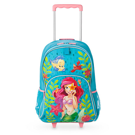 Disney Store The Little Mermaid Rolling Luggage