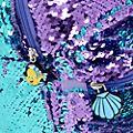 Disney Store Sac à dos La Petite Sirène avec sequins réversibles