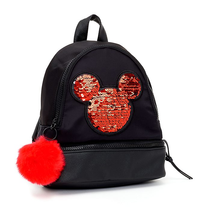 Disney Store Mickey Mouse Reversible Sequin Backpack 88bd059fcb2d2
