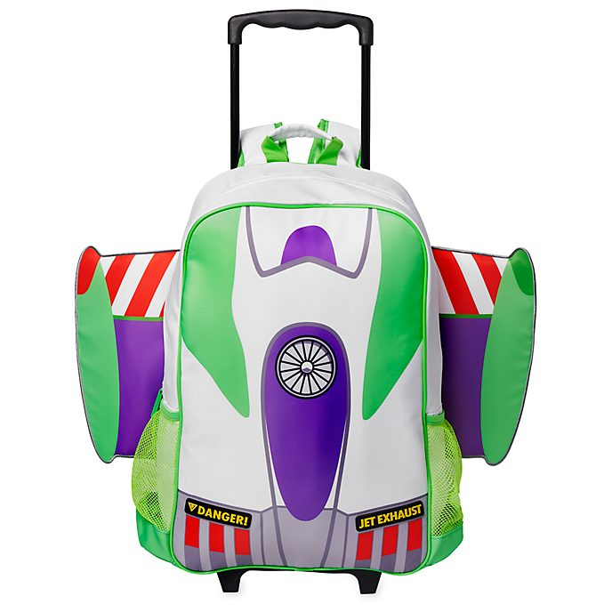 Disney Store Buzz Lightyear Rolling Luggage