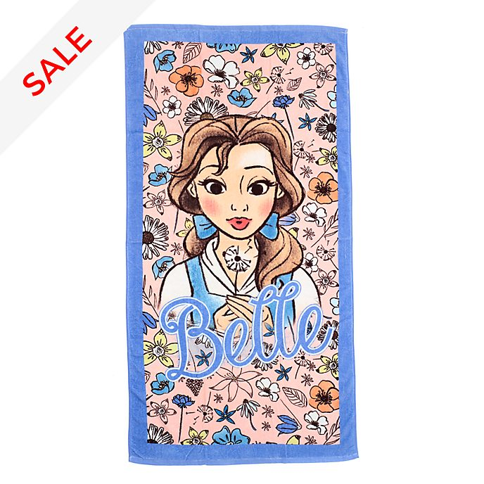 Disney Store Belle Beach Towel
