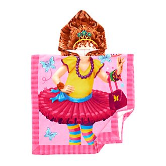 Disney Store Serviette avec capuche Fancy Nancy Clancy