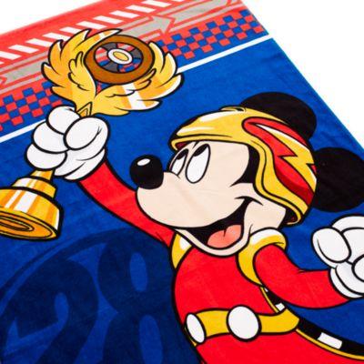 Toalla Mickey Aventura sobre ruedas