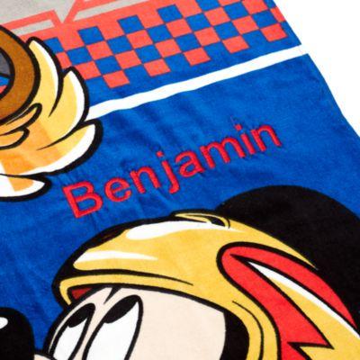 Racerholdet Mickey Mouse håndklæde