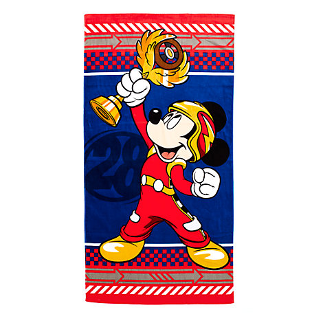 Roadster Racers Mickey Mouse Towel