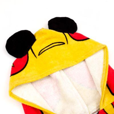 Musse Pigg och Racergänget handduk med huva