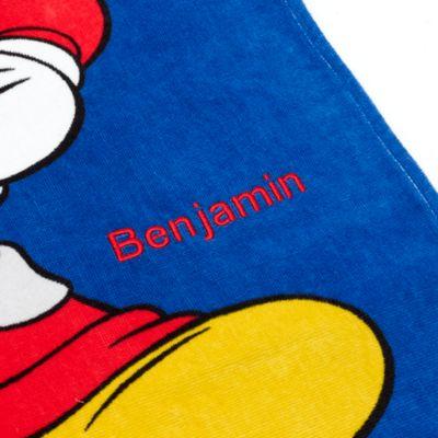 Asciugamano bimbi con cappuccio Topolino Roadster Racers