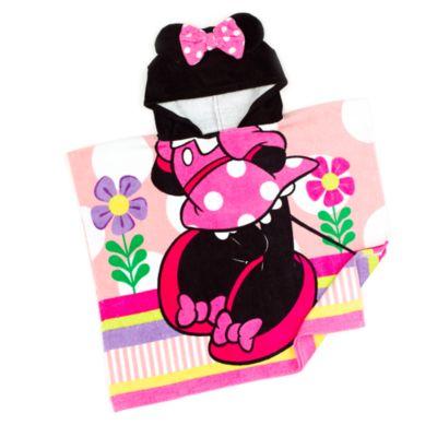 Serviette avec capuche Minnie Mouse pour enfants