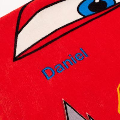 Serviette avec capuche Disney Pixar Cars pour enfants