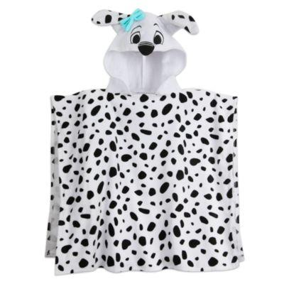 101 Dalmatinere hættehåndklæde til børn