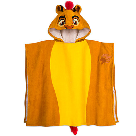 Serviette à capuche Kion pour enfants, La Garde du Roi Lion