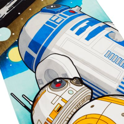 R2-D2 and BB-8 Towel, Star Wars: The Force Awakens