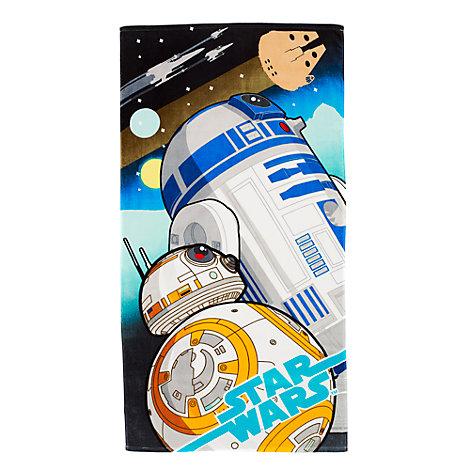 Toalla de R2-D2 y BB-8, de Star Wars: El despertar de la Fuerza