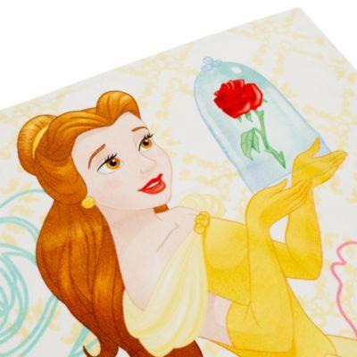 Serviette Belle, La Belle et la Bête