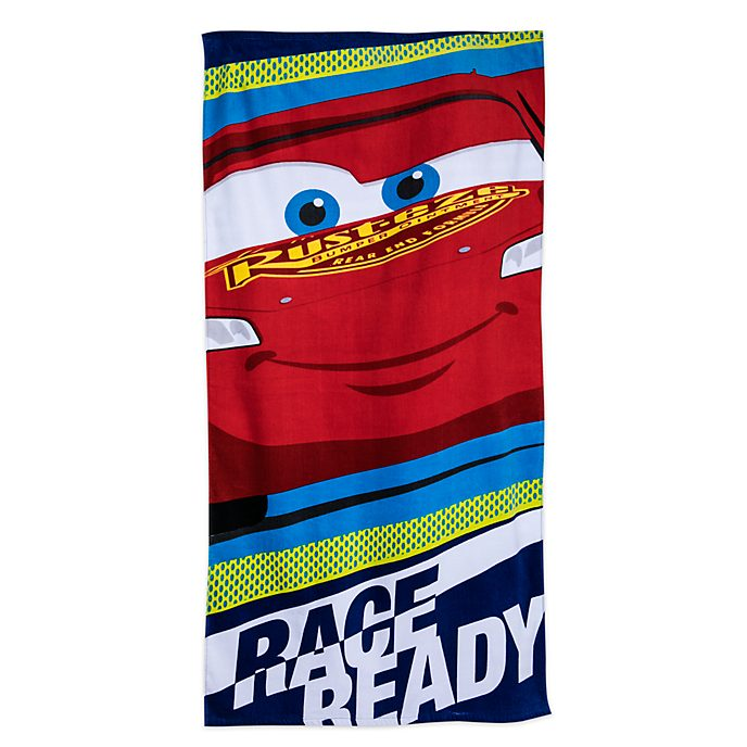 Disney Store Serviette de plage Flash McQueen