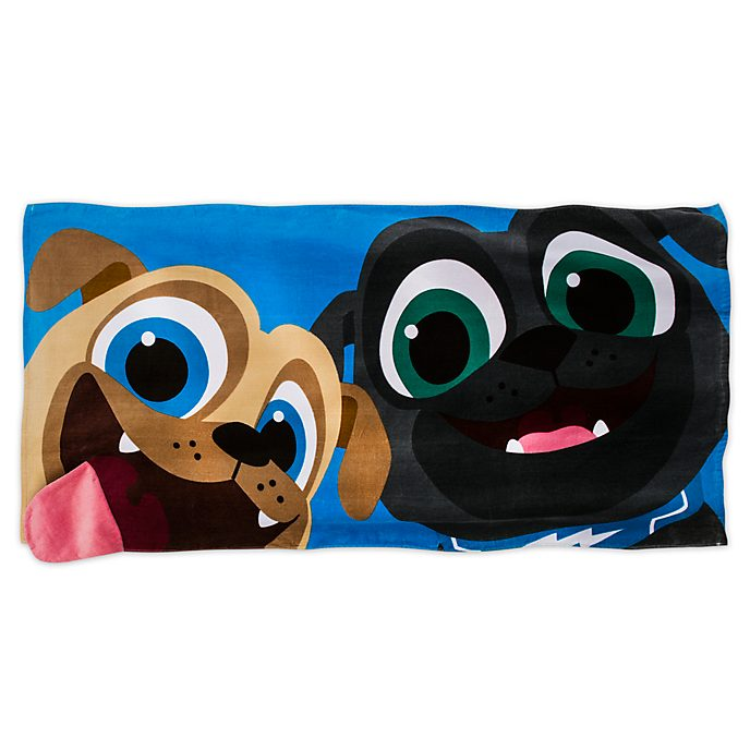 Disney Store Puppy Dog Pals Towel