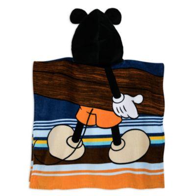 Serviette à capuche Mickey Mouse pour enfants