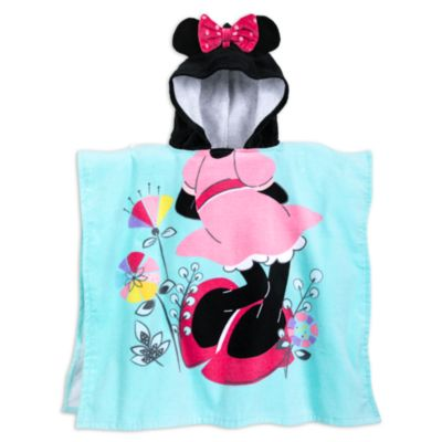 Minnie Maus - Kapuzenhandtuch für Kinder