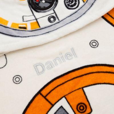 Asciugamano bimbi con cappuccio BB-8