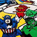 Disney Store Marvel Comics Towel