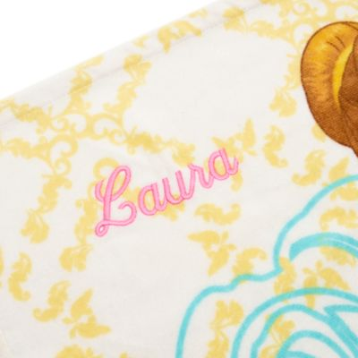 Belle Beach Towel, Beauty and the Beast