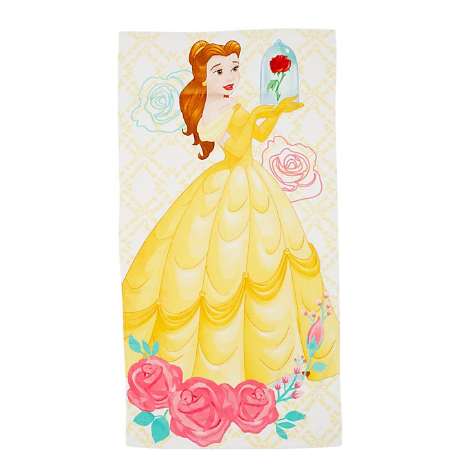 Disney Store Belle Beach Towel, Beauty and the Beast