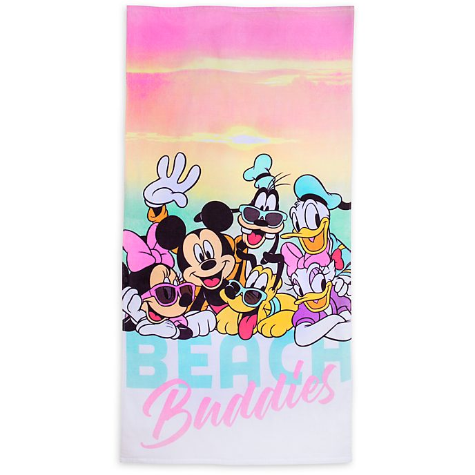Disney Store Beach Buddies Towel