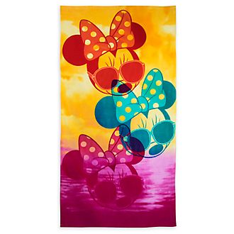 Disney Store Minnie Mouse Beach Towel