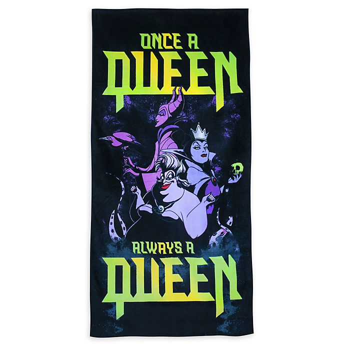 Disney Store Serviette de plage Disney Villains