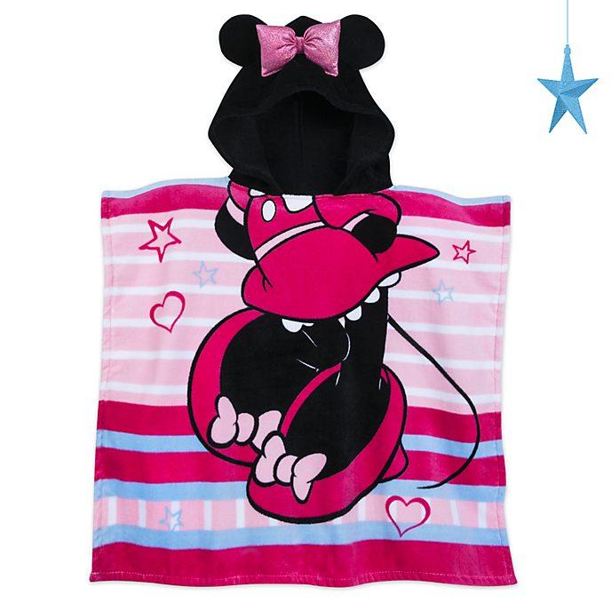 Disney Store Serviette à capuche Minnie Mouse pour enfants