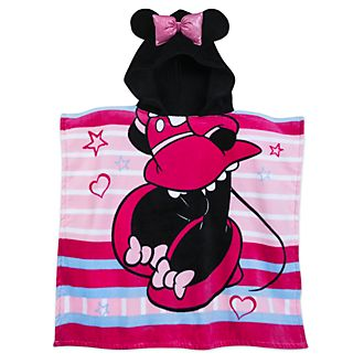 Disney Store Minnie Mouse Hooded Towel For Kids