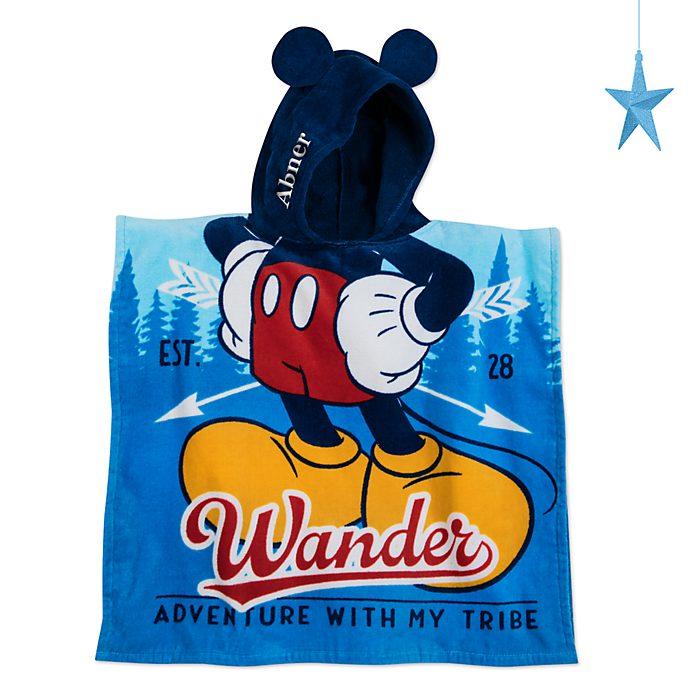 Disney Store Serviette à capuche Mickey Mouse pour enfants