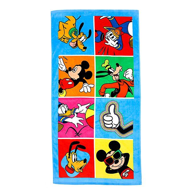 Disney Store Serviette de plage Mickey et ses amis