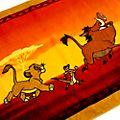Disney Store Serviette de plage Le Roi Lion