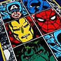 Toalla de playa Marvel Comics, Disney Store