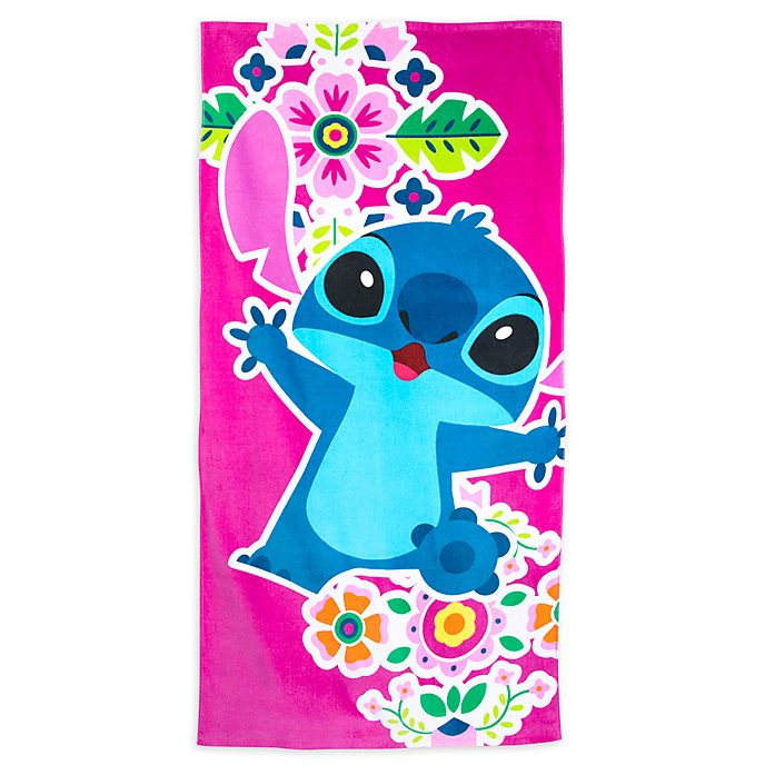 Disney Store Stitch Beach Towel