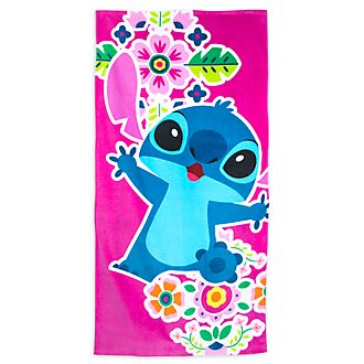 Disney Store Stitch Beach Towel