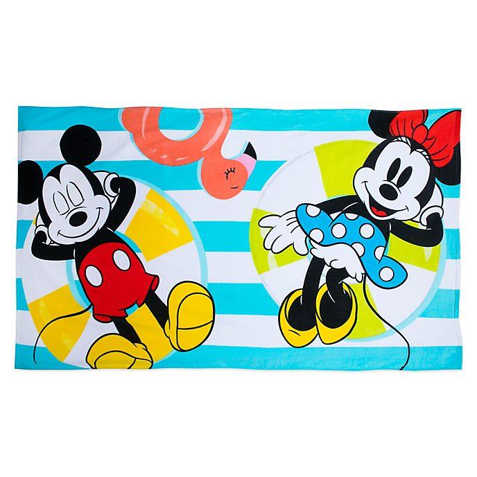 Disney Store Serviette de plage Mickey et Minnie