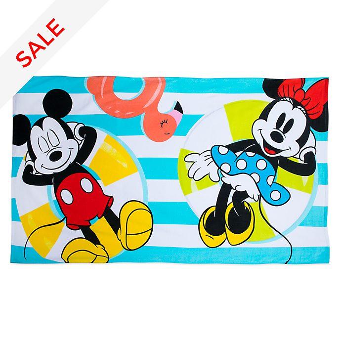 Disney Store Mickey and Minnie Beach Towel