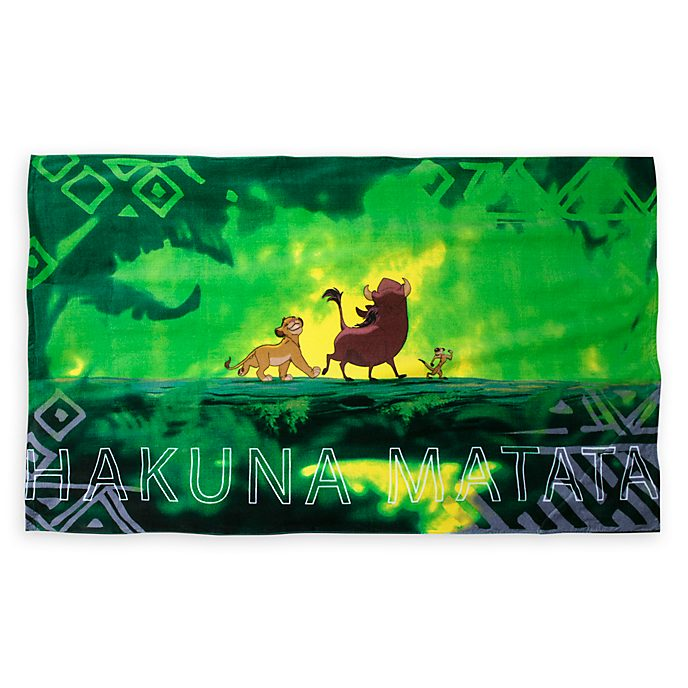 Disney Store Oh My Disney The Lion King Beach Towel