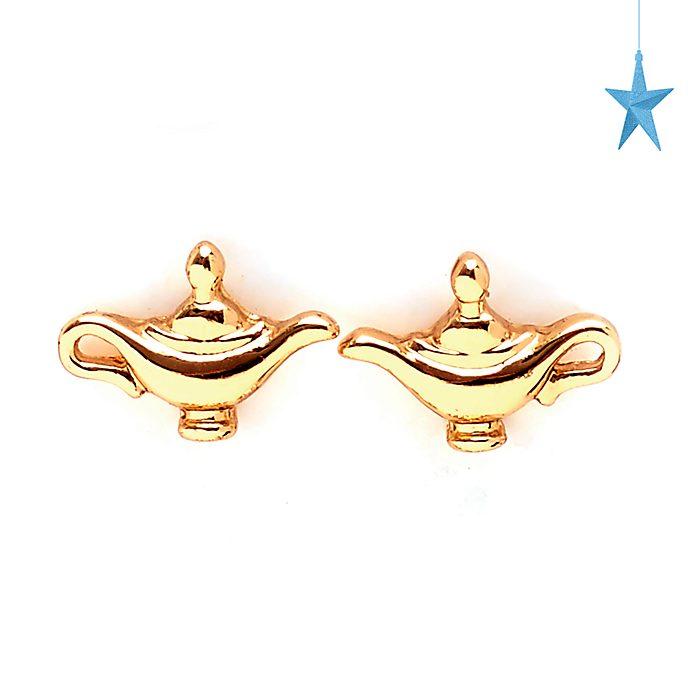 Orecchini a bottone Lampada magica Aladdin Disney Store