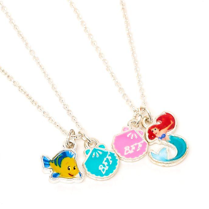Disney Store The Little Mermaid Friendship Necklace Set