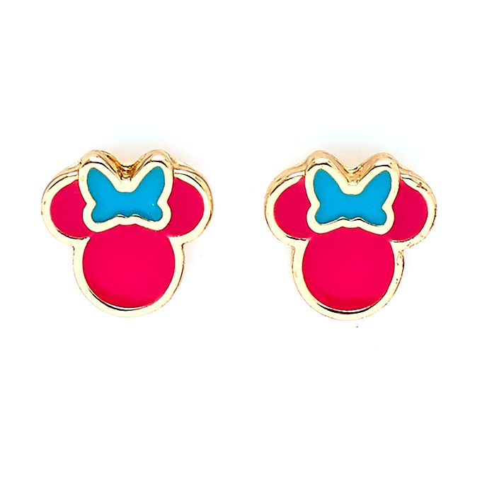 Disney Store Minnie Mouse Stud Earrings