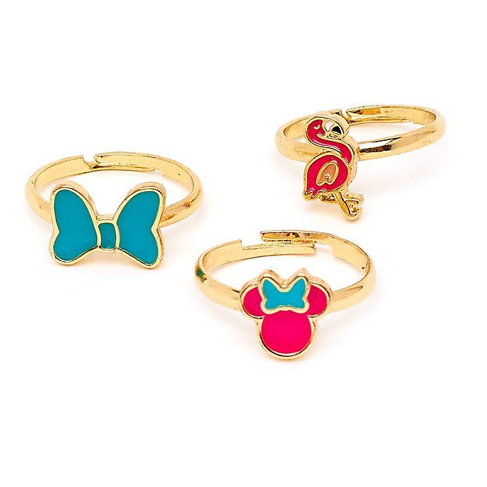 Disney Store Lot de 3bagues Minnie