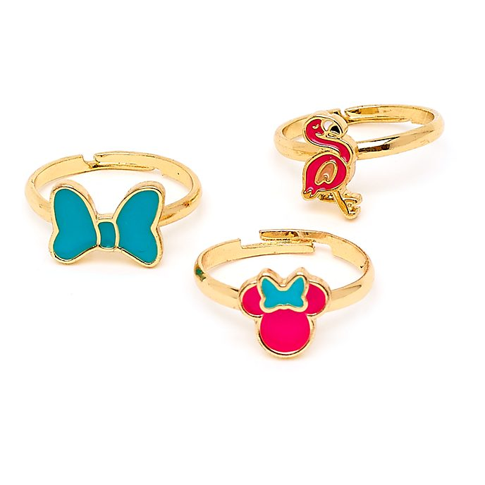Disney Store Minnie Mouse Rings, Set of 3